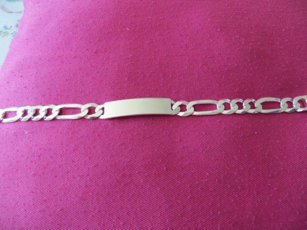 bracelet Gourmette argent