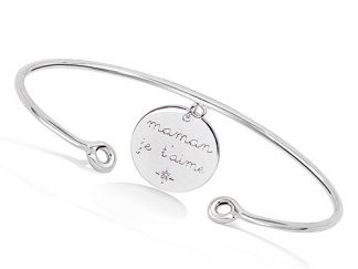 bracelet jonc maman je t'aime