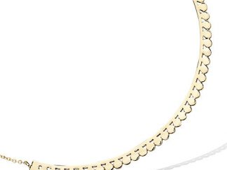 collier boheme pastilles pl or