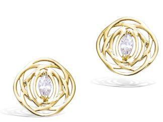 boucle oreille pl or multi anneaux