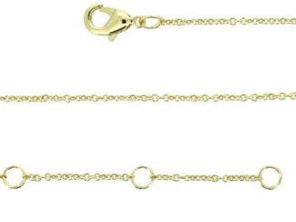 Chaine or forçat basique 44cm