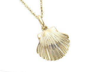 pendentif coquillae pl or