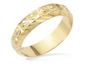 bague anneau plaqué or diamanté