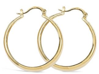 boucle oreille pl or creole 30mm