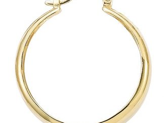 boucle oreille pl or creole large 40mm