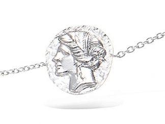Bracelet argent déesse grecque