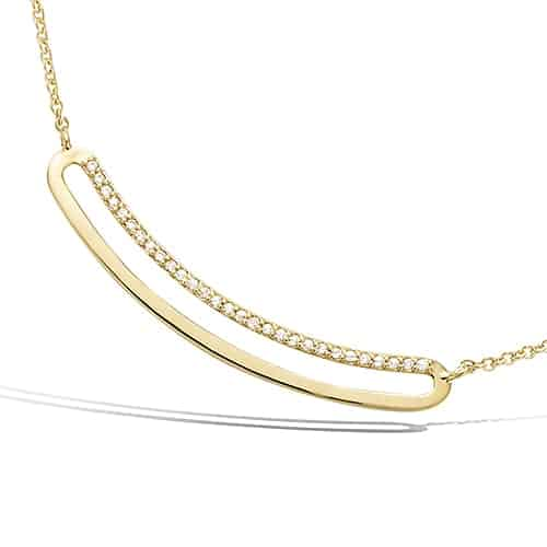 Collier or rectangle concave