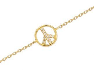 Bracelet or Peace & Love