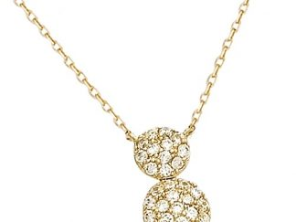 Collier or double pastille oxydes