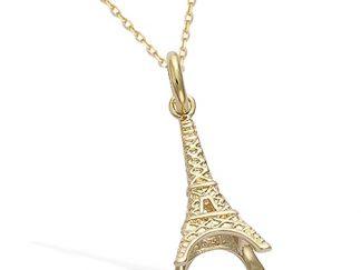 Pendentif or tour Eiffel Paris