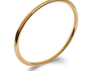 Bracelet jonc or rond