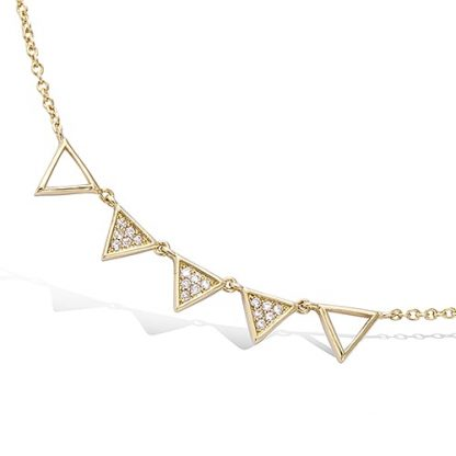 Coller or multi triangles oxydes