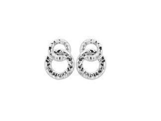 Boucle oreille argent anneaux