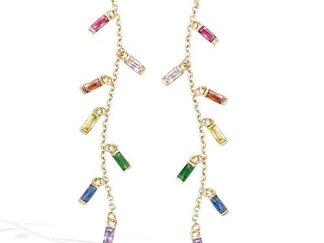 Boucle oreille or rainbow