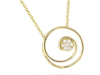 Collier or spirale oxydes