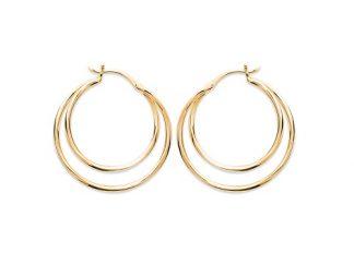 Créole or double anneaux