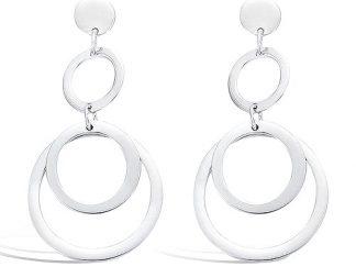 Boucle oreille trois anneaux