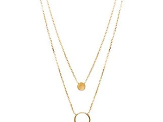 Collier or multirang anneau